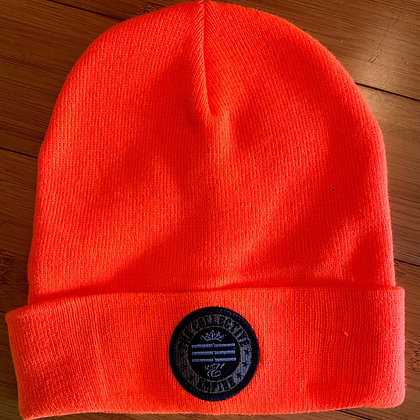Fluorescent Orange Beanie