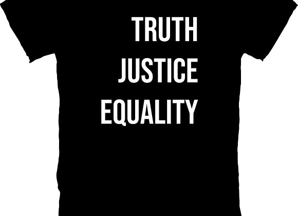 Truth, Justice, Equality