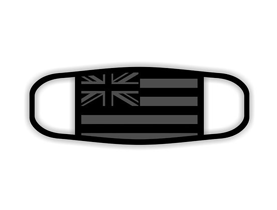 HAWAII FLAG FACE MASK