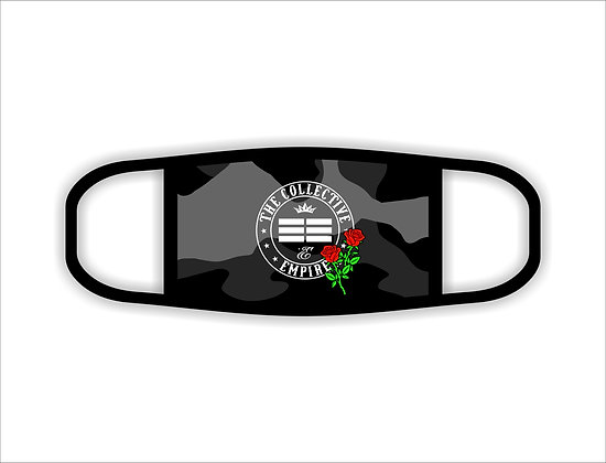 TCE Roses Logo Face Mask