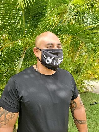 Oversized Andria Tupola Face Mask