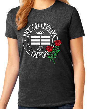 TCE WOMENS ROSE LOGO