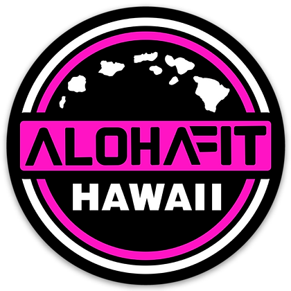 Pink AF Hawaii Sticker