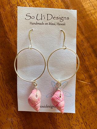 Ākala Hoop Earrings