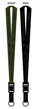 Empire Embroidered Lanyard G/B