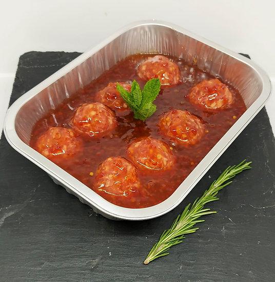 Piri Piri Meatballs