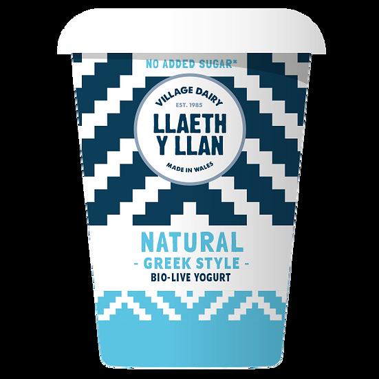 Llaeth y Llan Natural Greek Style Yoghurt