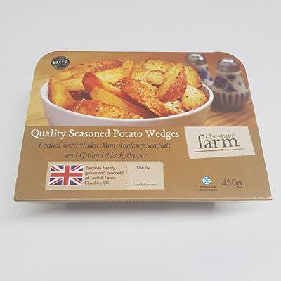 Cheshire Farm Seasoned Potato Wedges