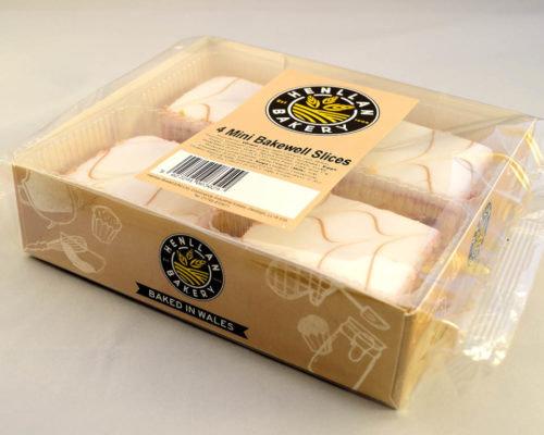 Henllan Mini Bakewell Slices x 4