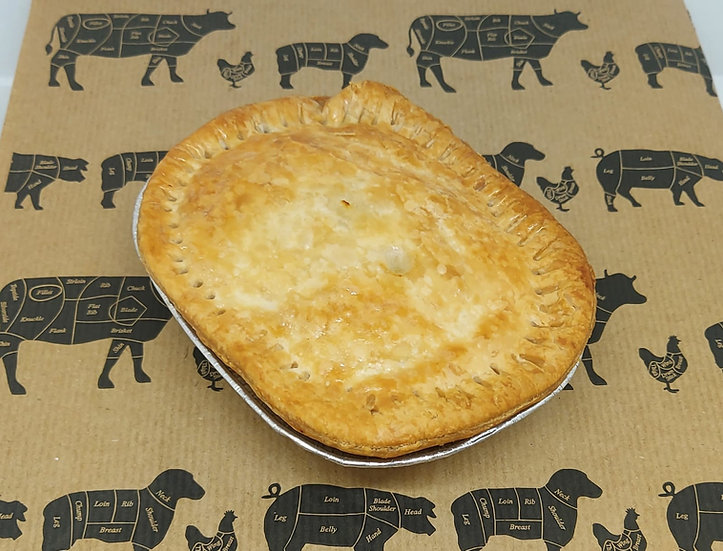 Individual Lamb & Mint Cooked Pie