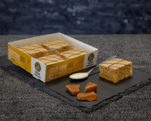 Henllan Mini Sticky Toffee Slices x 4