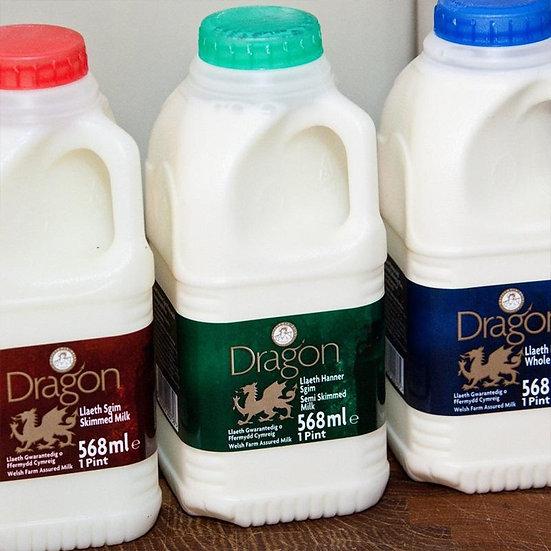 Semi Skimmed Milk 1 Pint