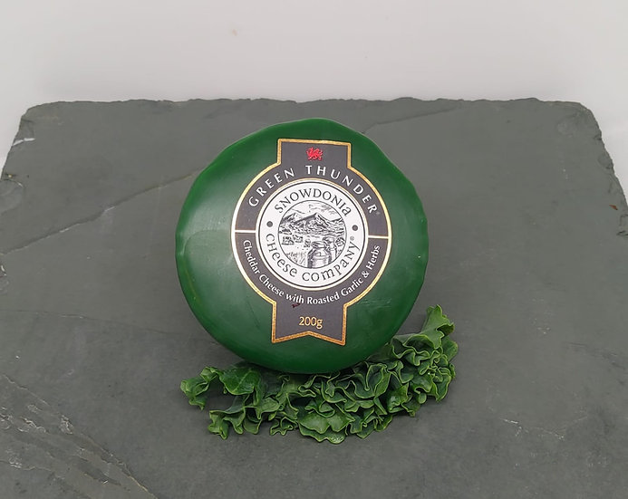 Snowdonia Cheese Green Thunder Truckle