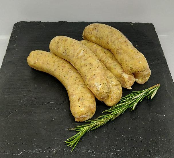 Honey & Wholegrain Mustard Sausages