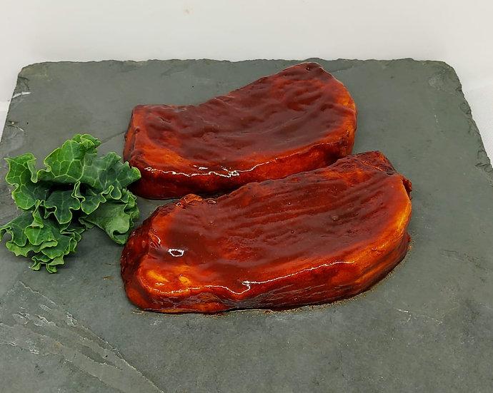 BBQ Boneless Pork Steaks