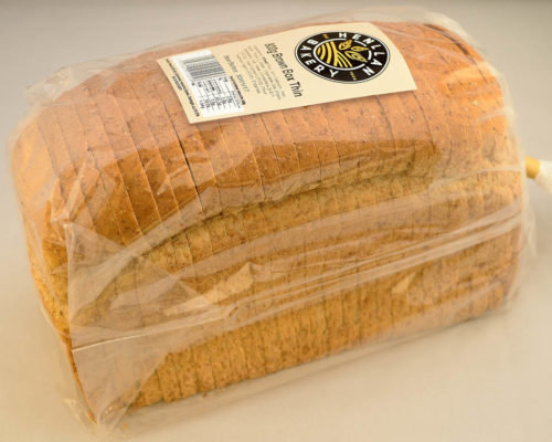 Henllan Bread Brown Thin Loaf 800g