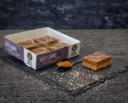 Henllan Mini Salted Caramel Slices x 4