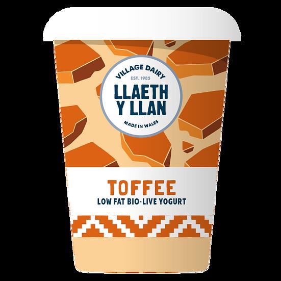 Llaeth y Llan Toffee Yoghurt