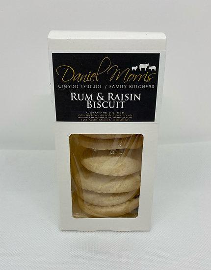 Daniel Morris Butchers Rum & Raisin Biscuits