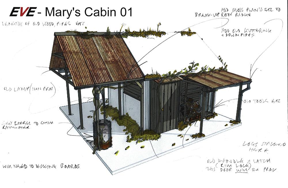 mary cabin