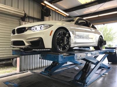 BMW alignment