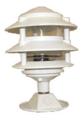 WHITE PAGODA LIGHT 4-TIER