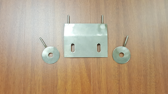STAINLESS STEEL GEAR PLATE COVER HARDWARE