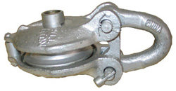 BALL BEARING BLOCK WITH GREASE FITTING 3″ GALVANIZED 1.5 TON