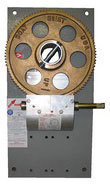 GEAR PLATE HD GALVANIZED WITH BRONZE GEAR