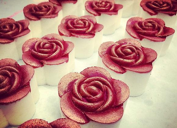 """Romantic Rose"" Hand Painted Bath Bomb"