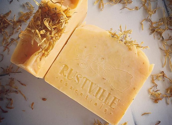 """Calendula Bergamot"" Body Bar (100% natural soap)"
