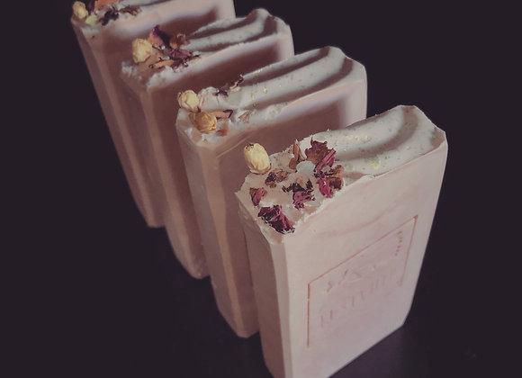 """Rustic Rose Geranium"" Shea Butter Body Bar"