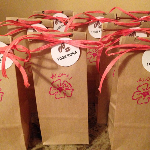 Coffee Wedding Favors Rochester Ny Jitter Crow