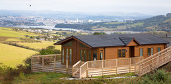 Log cabins for sale off site