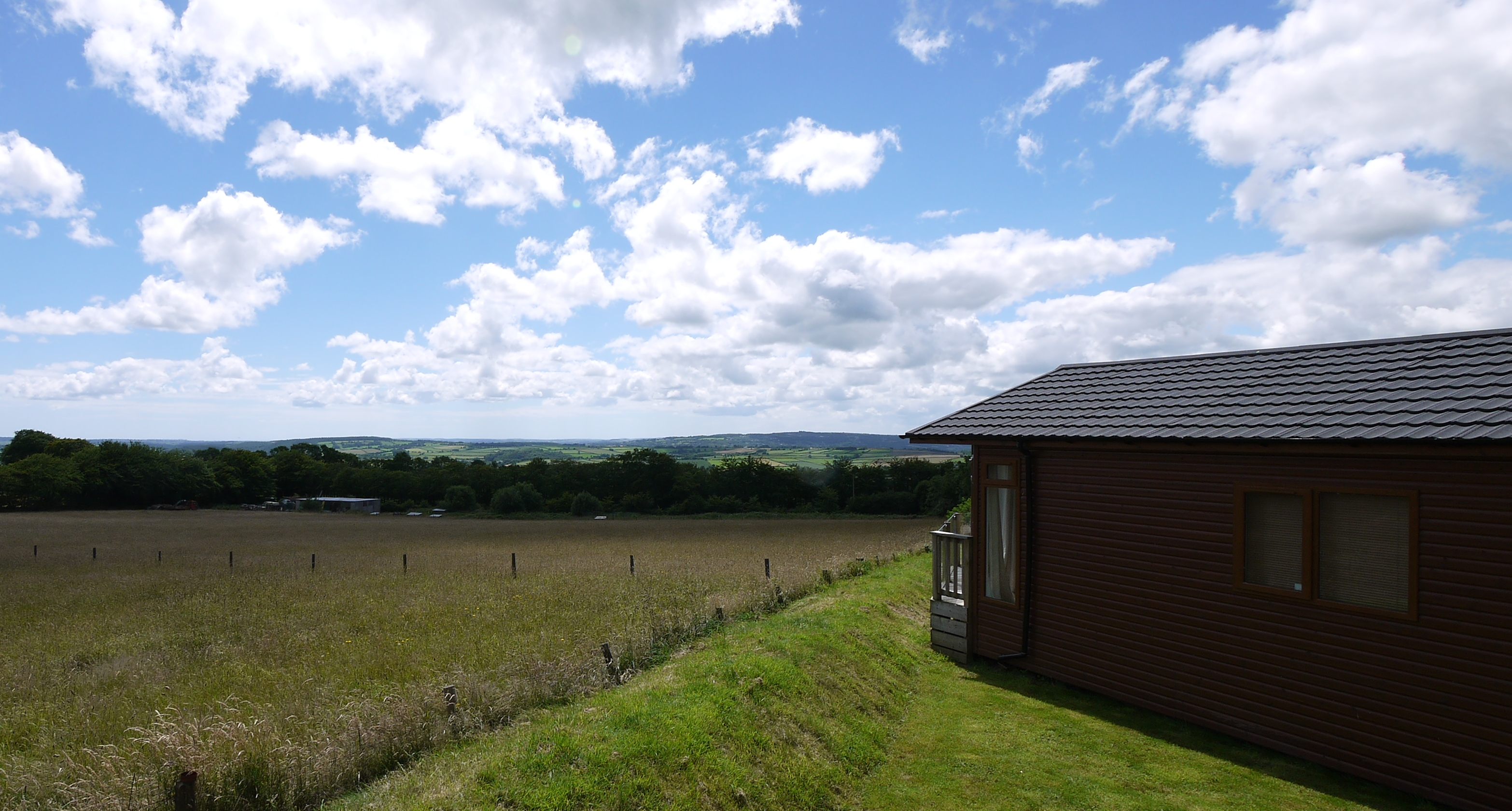 Lodges for sale with views, Devon
