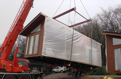 Crane Hire for siting a mobile home