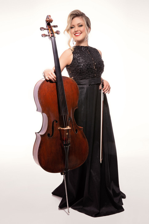 Sympholynn Cellist Black Gown Lindsey