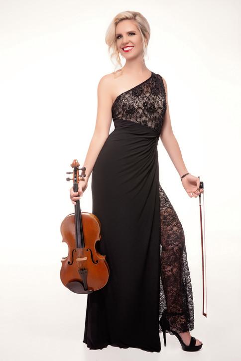 Sympholynn Viola Black Gown Jennifer