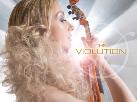 THE VIOLUTION SELF-TITLED DEBUT ALBUM OFFICIAL RELEASE