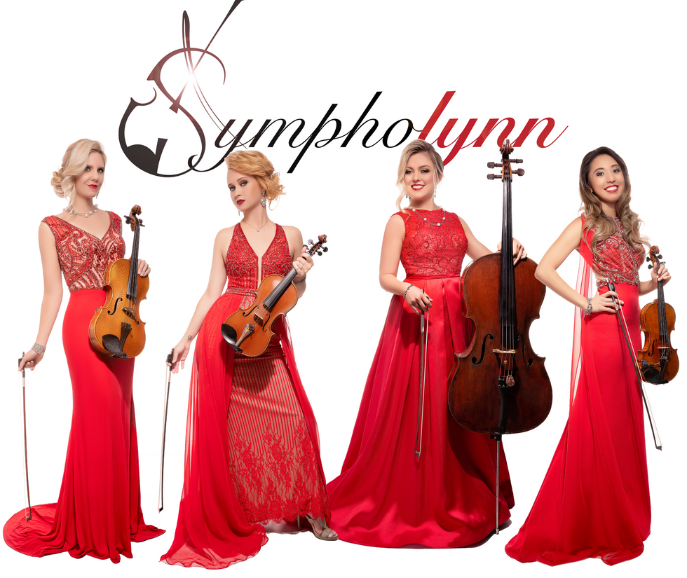 Sympholynn Red Gown Quartet