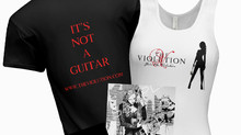Violution merchandise NOW AVAILABLE