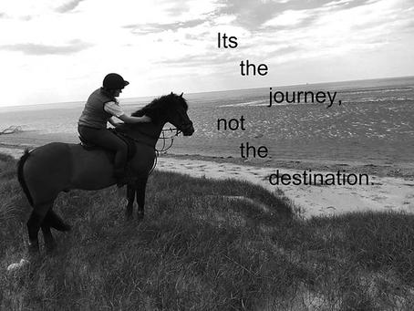It's the journey, not the destination