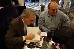 Autographing books in Istanbul.JPG