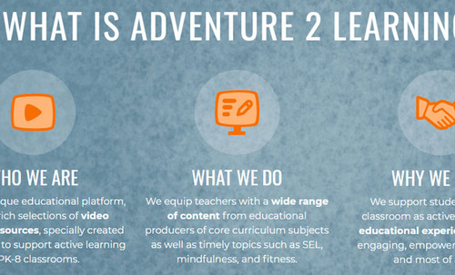 What is Adventure 2 Learning?