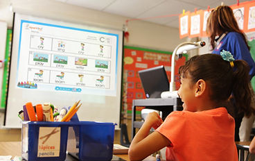 Science, Math and Social studies digital curriculum for ESL students.