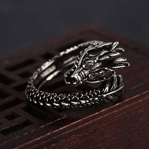 Adjustable Dragon Ring