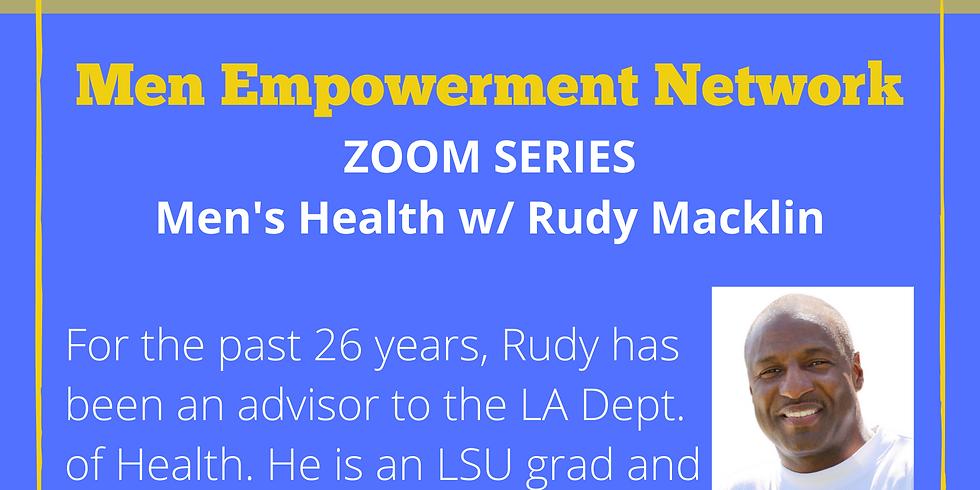M.E.N. Zoom Series - Men's Health 6/16/20