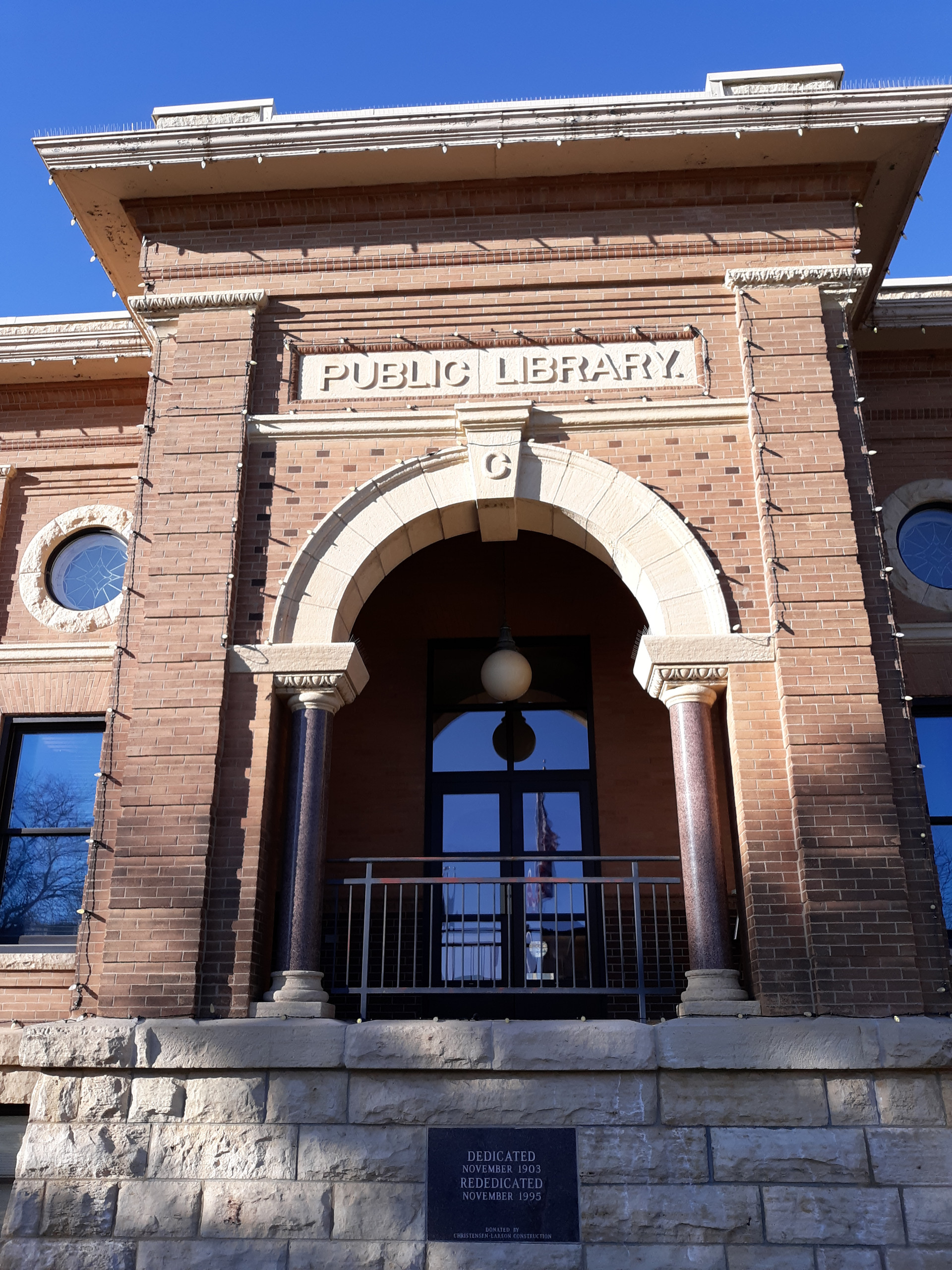 Estherville Iowa Carnegie Library - In Blog