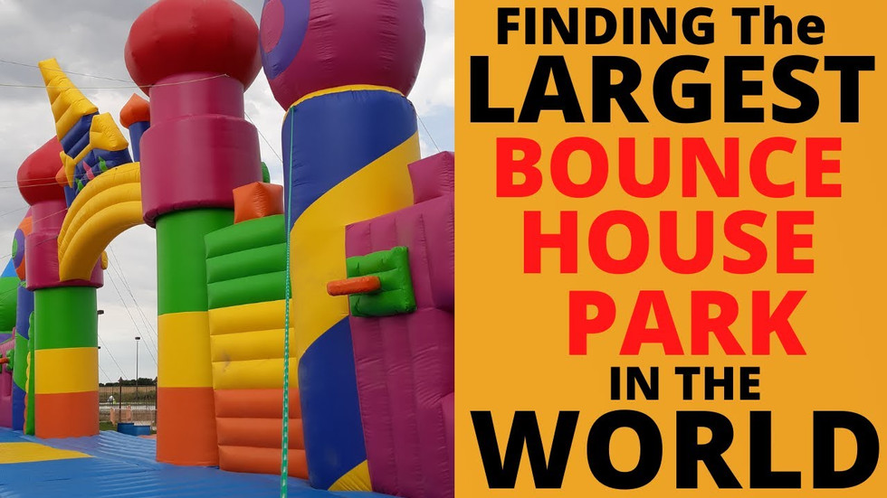 Largest Bounce House Park in the WORLD!