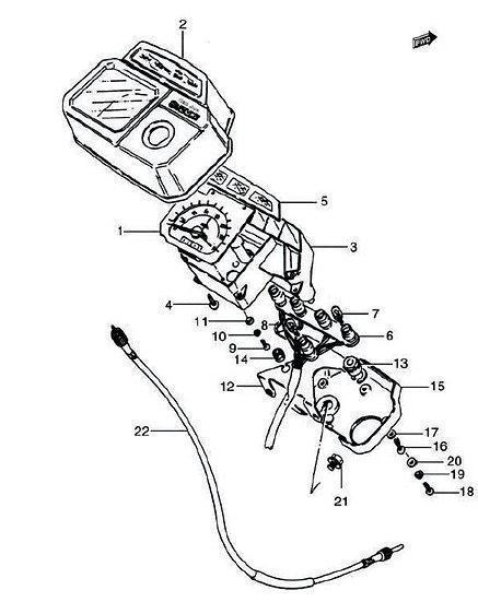AX100 - Speedometer